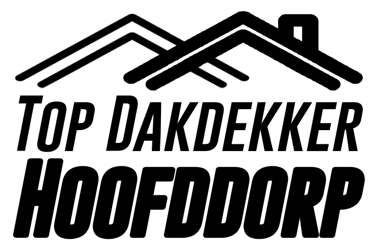 Dakdekker Hoofddorp logo full zwart